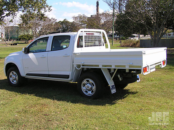 Holden Colorado Dual Cab with JAC Standard Tray
