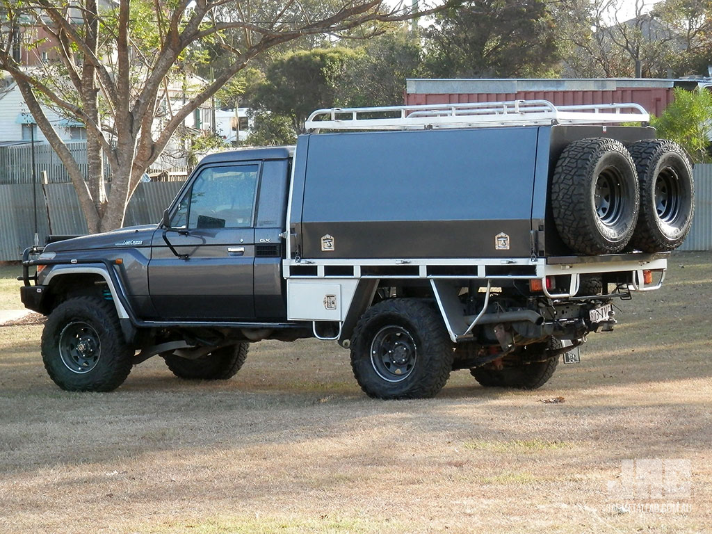 JAC Custom Removable Fully Enclosed Canopy with Roof Rack & Canopies and Tradesmanu0027s Bodies | JAC Metal Fabrication